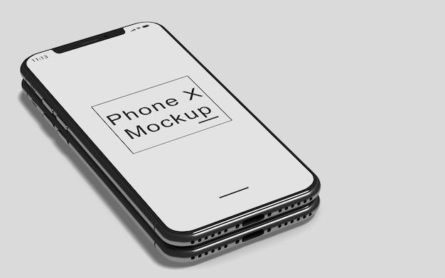 Telefono x mockup