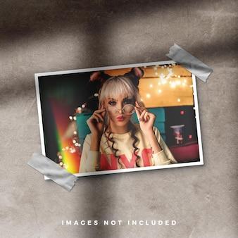 Mockup di collage di moodboard cornice per foto Psd Premium