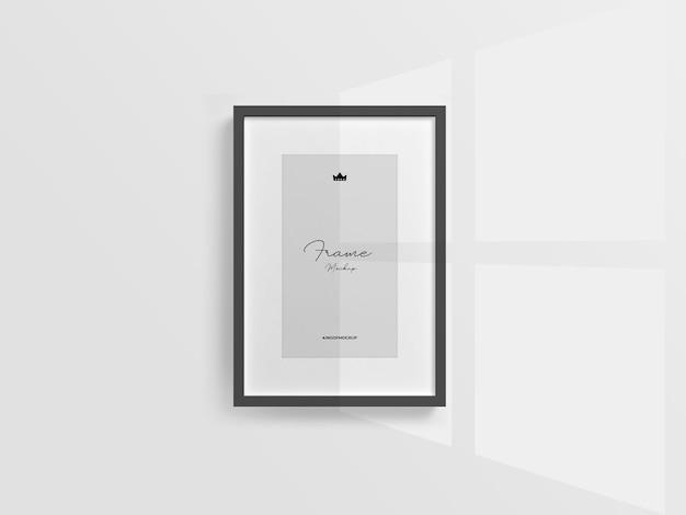 Cornici per foto mockup design isolato
