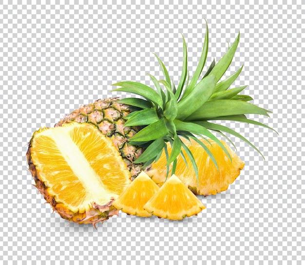 Ananas isolato psd premium