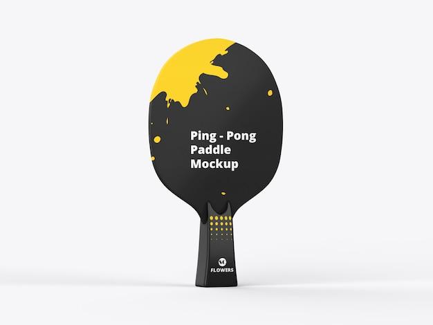 Mockup di paddle ping pong