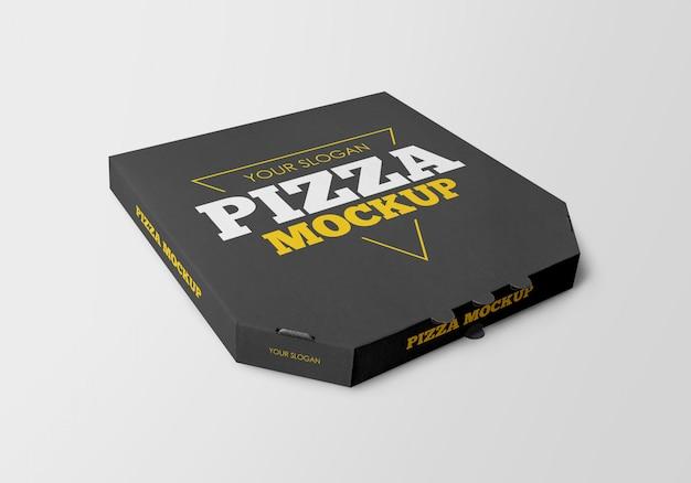 Mockup di scatola per pizza