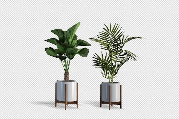 Progettazione di piante in varie angolazioni creatore di scene