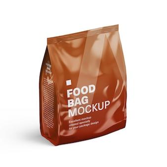 Mockup pacchetto sacchetto di plastica per il vostro disegno
