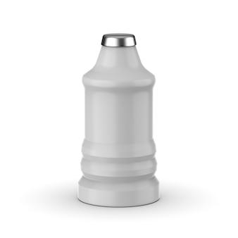 Design mockup bottiglia di plastica isolato Psd Premium