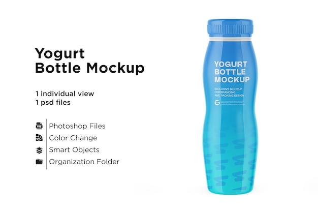 Bottiglia di plastica mockup