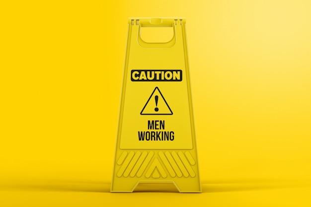 Modello di plastica del cartello del pavimento di avvertenza