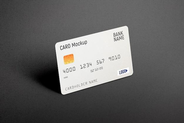 Carta di credito in plastica mockup