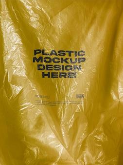 Mockup di plastica
