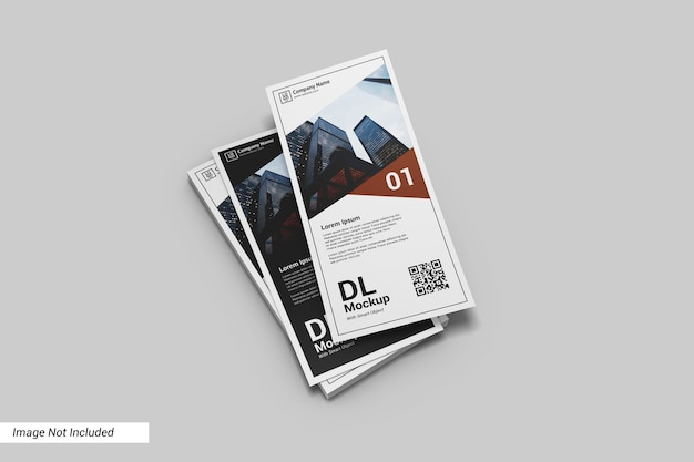 Ritratto dl flyer mockup