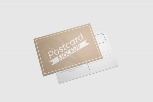 Mockup di cartoline e inviti