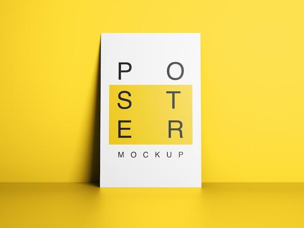 Design mockup di poster