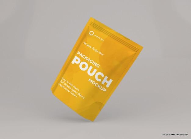 Design mockup pacchetto sacchetto isolato