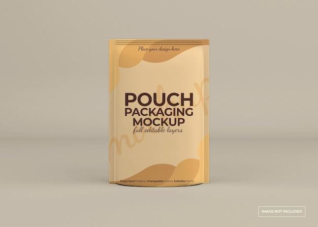 Design mockup confezione sacchetto isolato