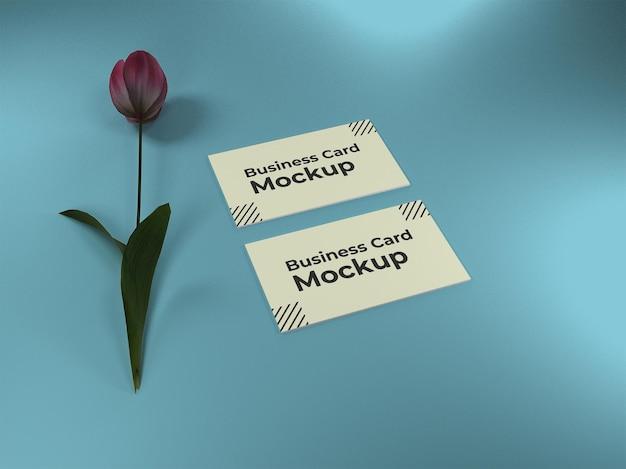 Design di mockup di biglietti da visita premium psd