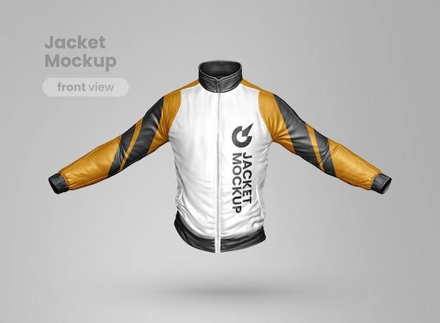 Vista frontale mockup giacca premium