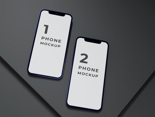 Design di mockup per smartphone di alta qualità