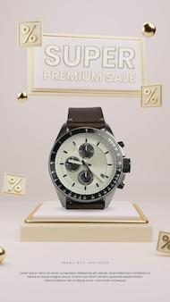 Podio vendita premium con sconto iconico
