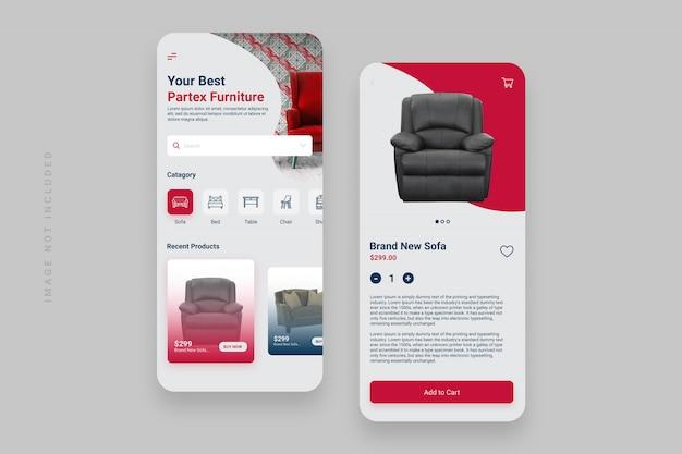 App di prodotto per smartphone