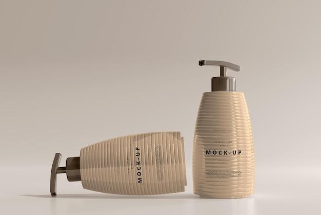 Bottiglia della pompa mockup