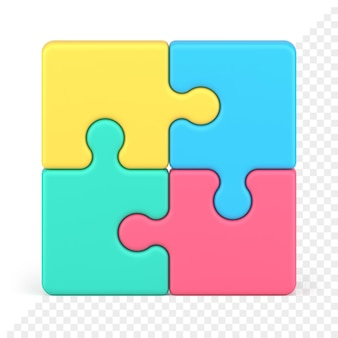 Puzzle 3d icona