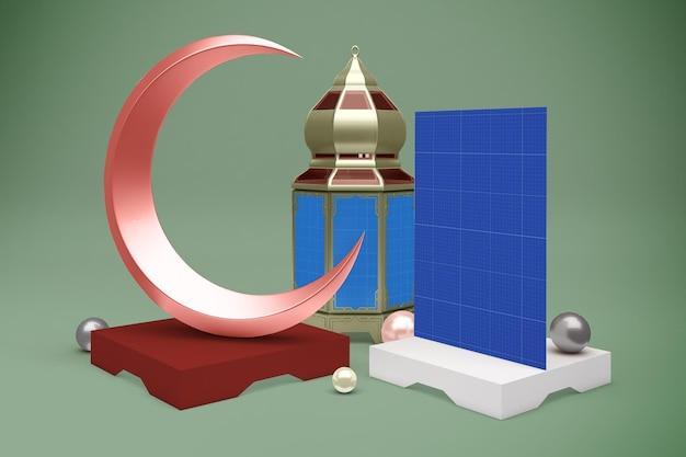 Ramadan flyer mockup