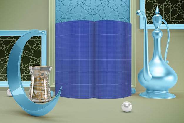 Mockup della rivista ramadan