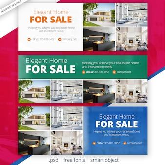 Copertine di facebook immobiliari