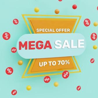 Mega vendita 3d realistica