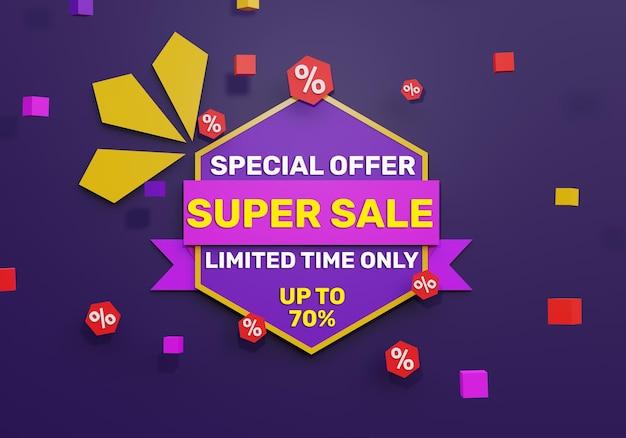 Super vendita 3d realistica