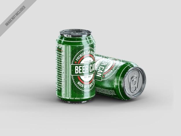 Mockup realistico di cabina di birra