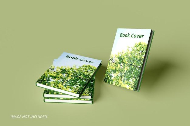 Design realistico del mockup della copertina del libro psd premium