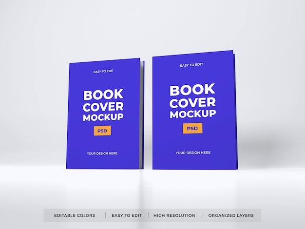 Modello di mockup di copertina del libro realistico