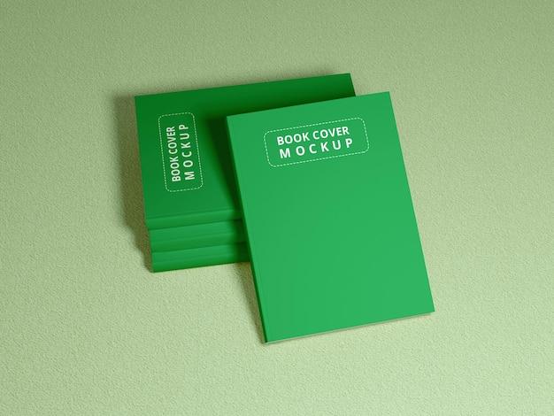 Mockup di copertina del libro realistico