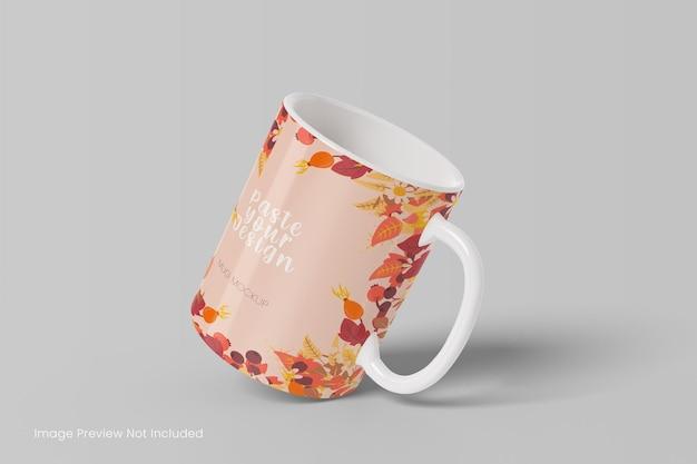Mockup di tazza da caffè realistico