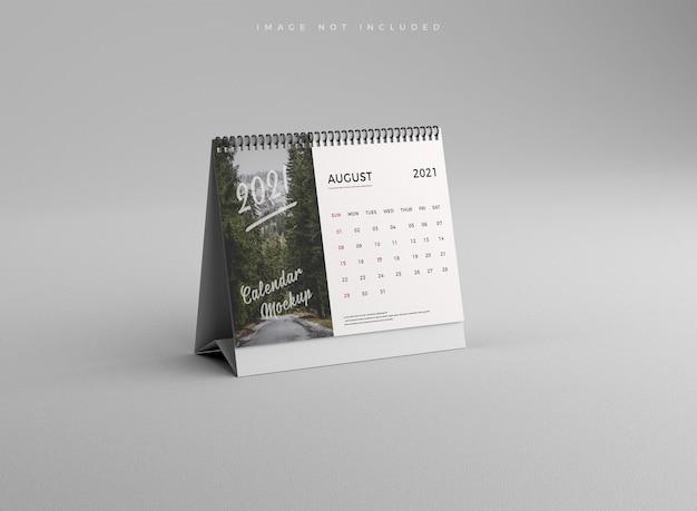 Calendario da tavolo realistico mockup
