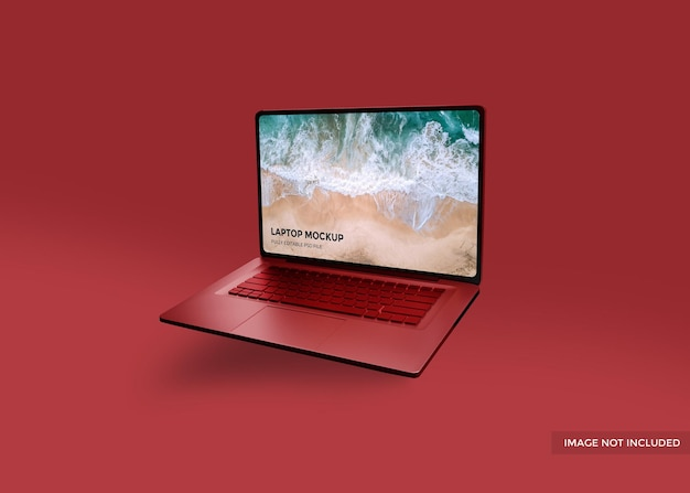 Macbook realistico o mockup di laptop