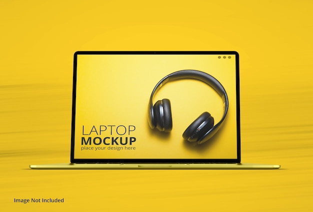 Realistico macbook pro laptop mockup