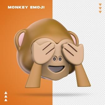 Scimmia realistica emoji