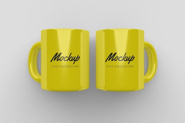 Progettazione realistica del modello della tazza isolata