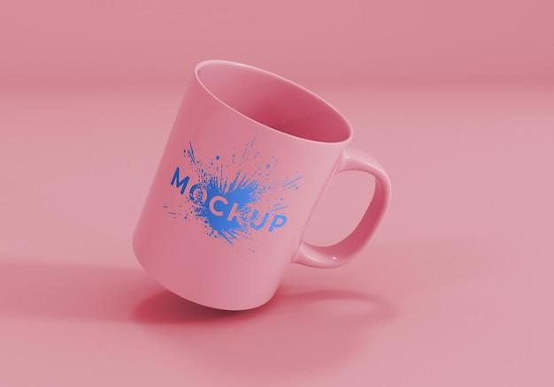 Realistico mug mockup design