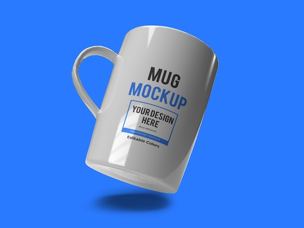 Modello realistico di mockup di tazza isolato