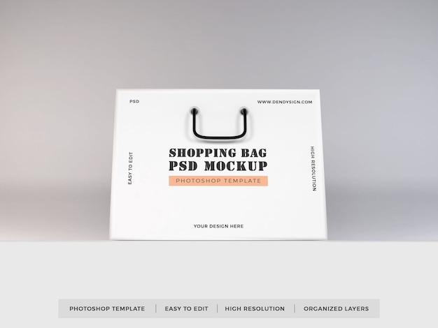 Realistico shopping bag mockup