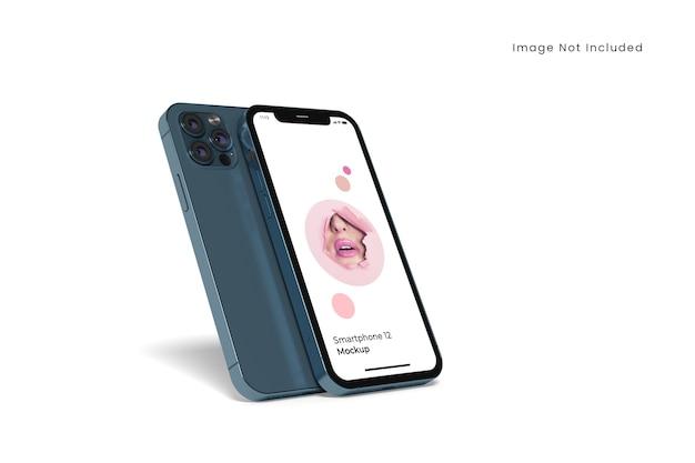 Mockup di smartphone realistico isolato