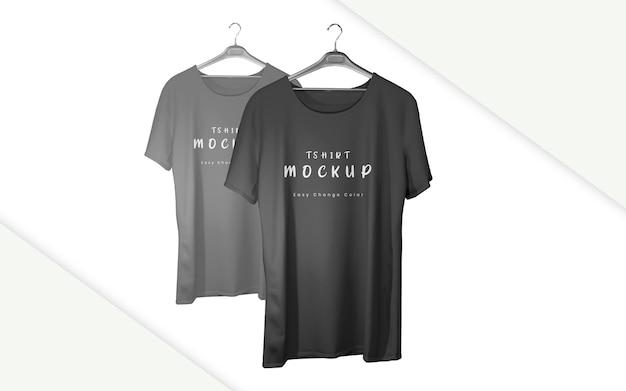 Mockup realistico della maglietta isolato