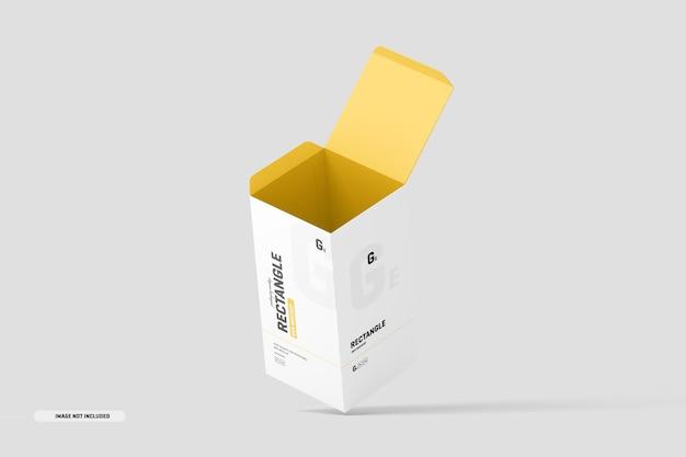 Mockup di scatola rettangolare