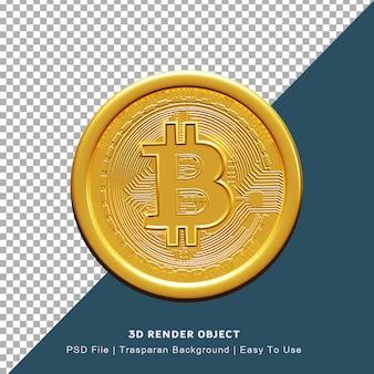 Rendering 3d poster blockchain criptovaluta bitcoin