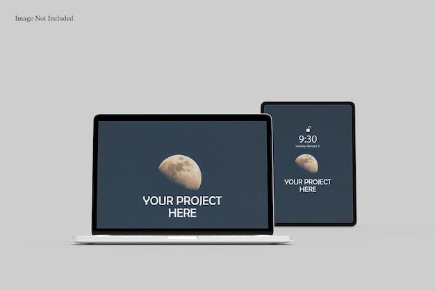 Mockup di schermo reattivo