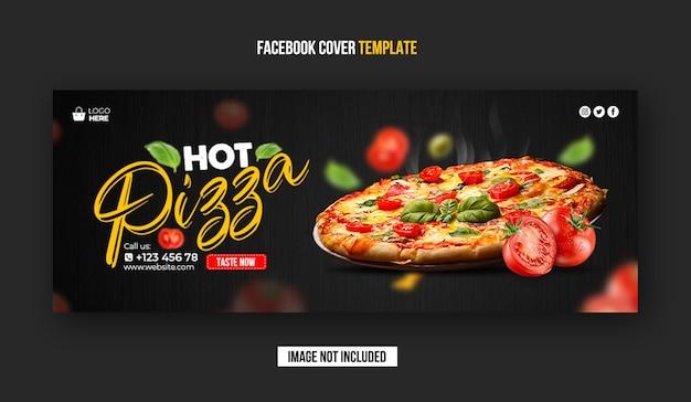 Banner di copertina di facebook del ristorante