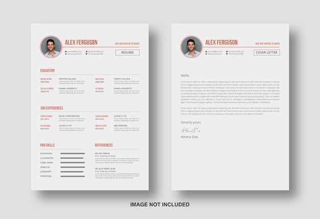 Riprendi il cv con il modello di progettazione della lettera di presentazione